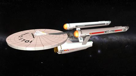 [MMD DL] USS Enterprise NCC-1701