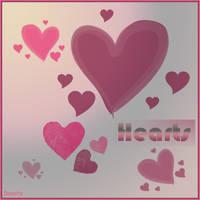 .:: Hearts ::. by DeSSiTa