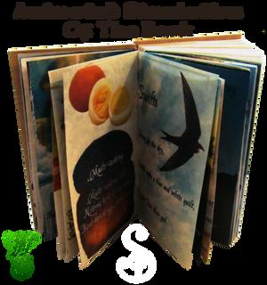 Coptic Bound Haiku Book Animated and INTERACTIVE