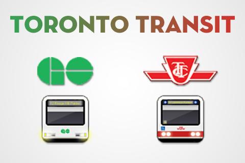 Toronto Transit Icons by acidplanet6