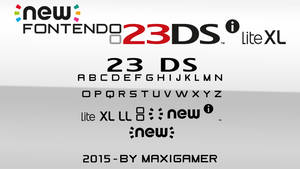[FONT] New Fontendo 23DSi Lite XL (DOWNLOAD .ZIP) by MaxiGamer