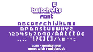 Twitchy.TV FONT