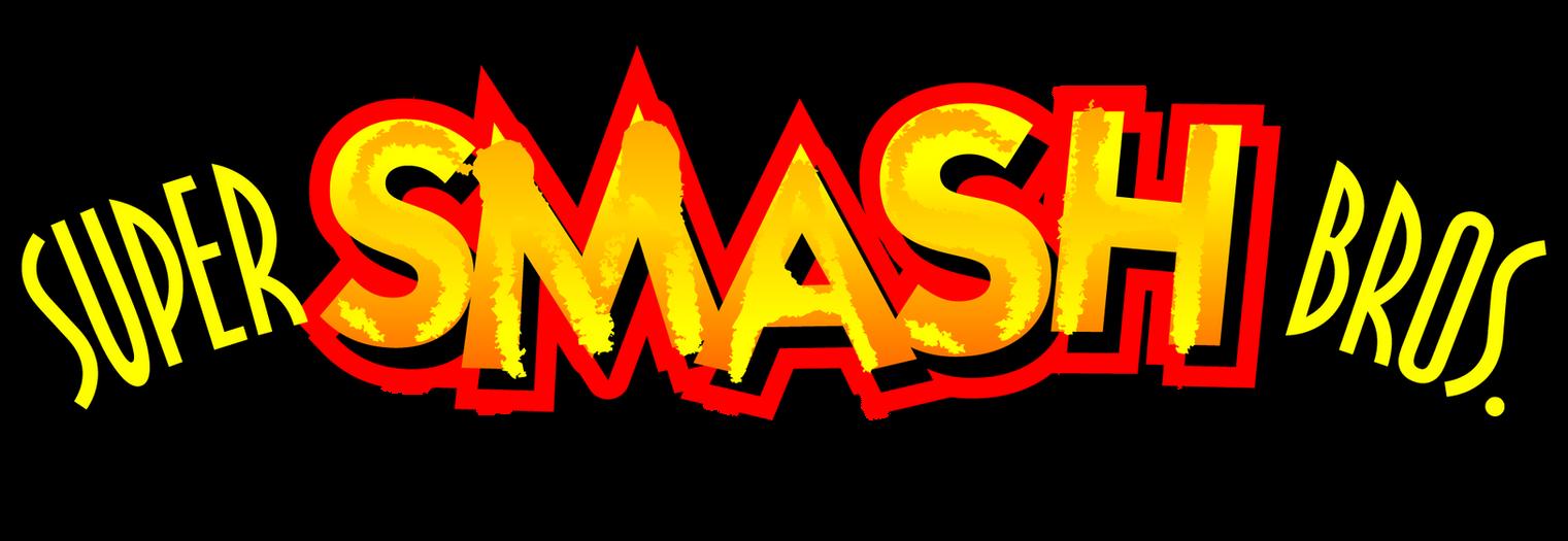 Super Smash Bros. 64 Logo   Accurate Restoration