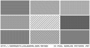 basic scanline patterns