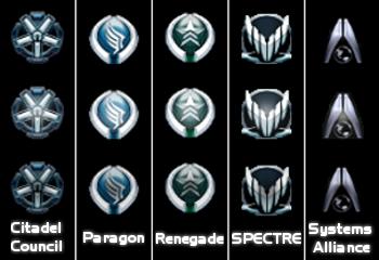 Mass Effect Start Buttons by darkstaruav
