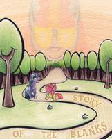 Story of the Blanks - Original by aoshistark