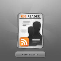 RSS READER Icon by twinware