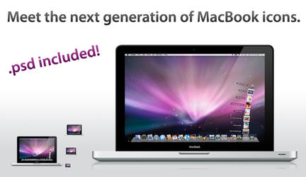 New MacBook 2008 Icon by twinware