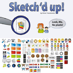 Sketched up - free iconset