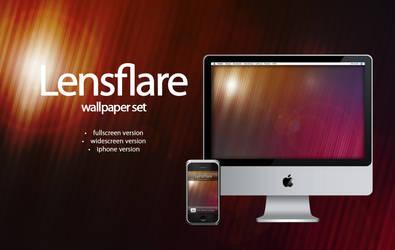 lensflare wallpaper set