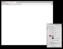 Chrome Screenshot Template by twinware