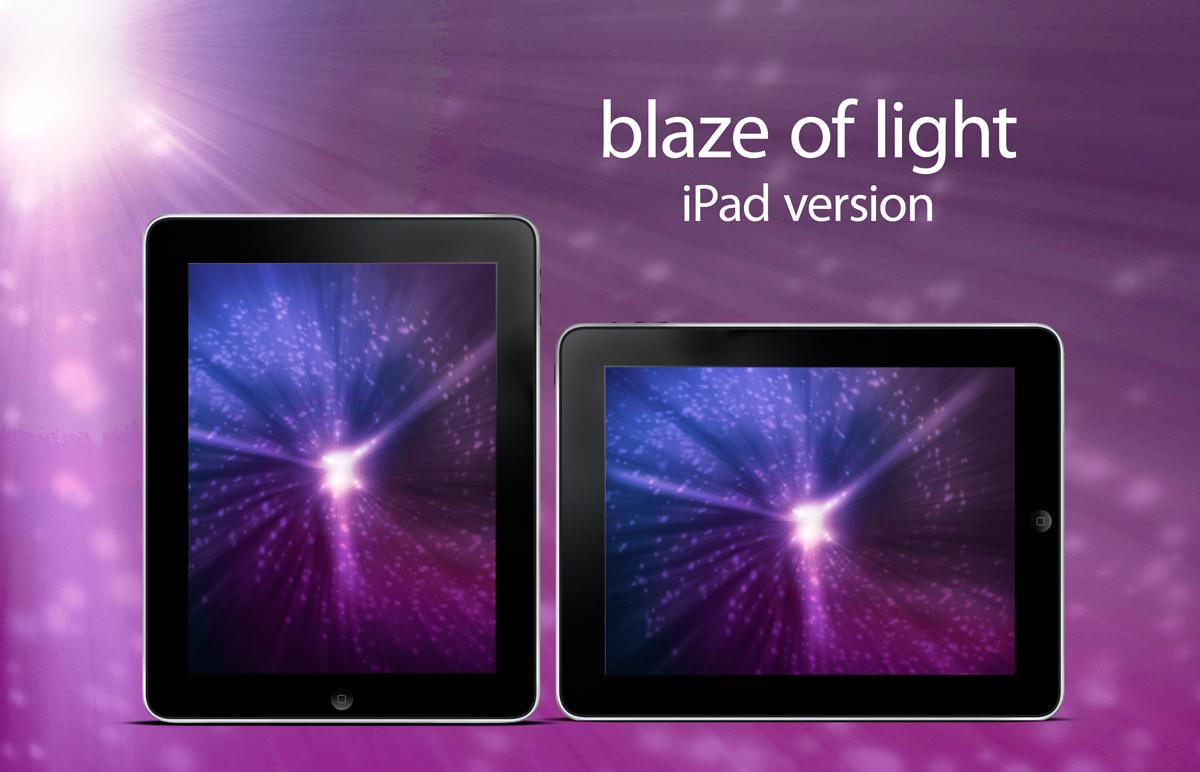 blaze of light - iPad version