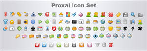 Proxal Icon Set v2 by valkyre