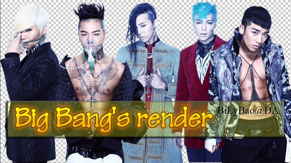 Big Bang's render by BiLyBao