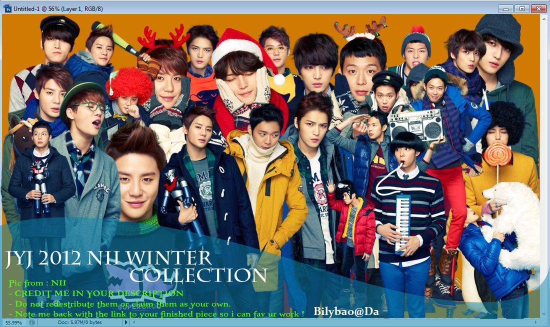 JYJ Winter 2012 render pack by BiLyBao