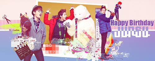 [PSD] Happy Birthday JunSu by BiLyBao