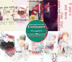Happy the Nine Anniversary TVXQ + PSD