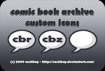 comic book archive icons
