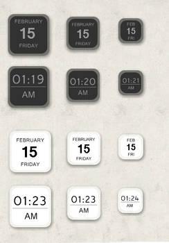 2 Tone Clock and Date 1.0.0