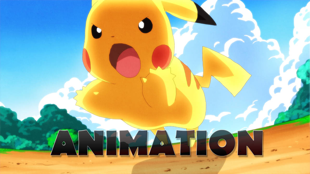 Pikachu Quick Attack Animation By Moxie2d On Deviantart