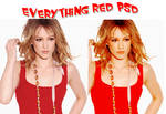 Everything Red PSD.
