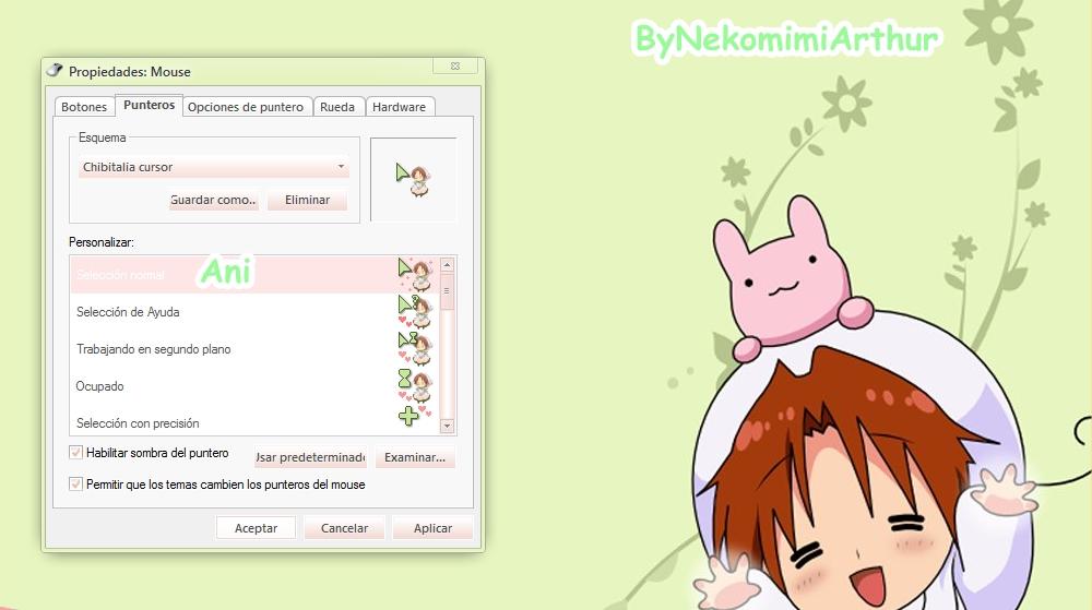 Chibitalia cursor ByNekomimiArthur by Nekomimiarthur
