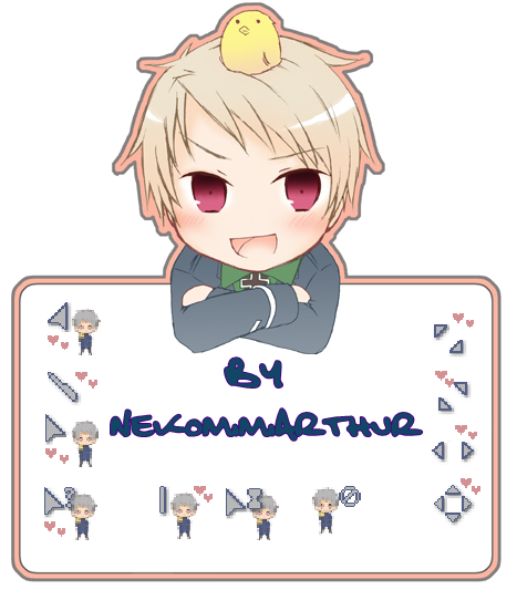 Prussia v2 cursor ByNekomimiArthur by Nekomimiarthur