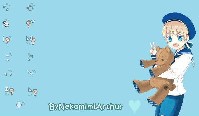 Sealand cursor ByNekomimiArthur by Nekomimiarthur