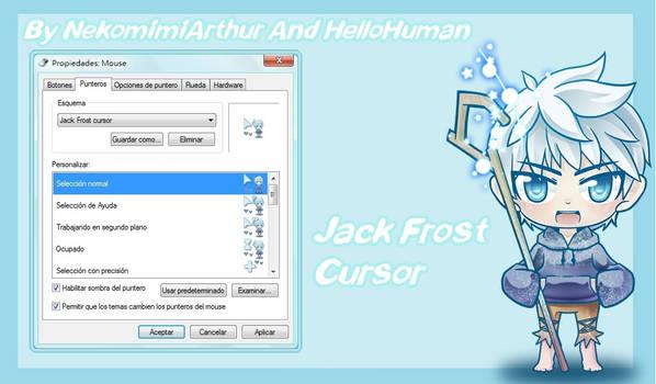 Jack Frost Cursor By NekomimiArthur And Hellohuman