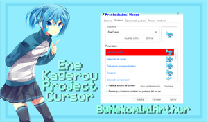 Ene Kagerou Project cursor byNekomimiArthur