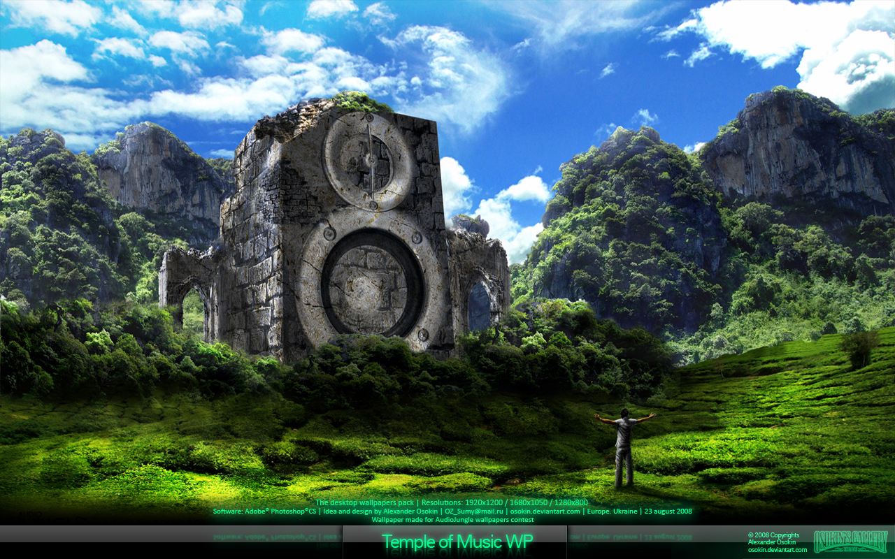 The Temple Of Music Wp By Osokin On Deviantart