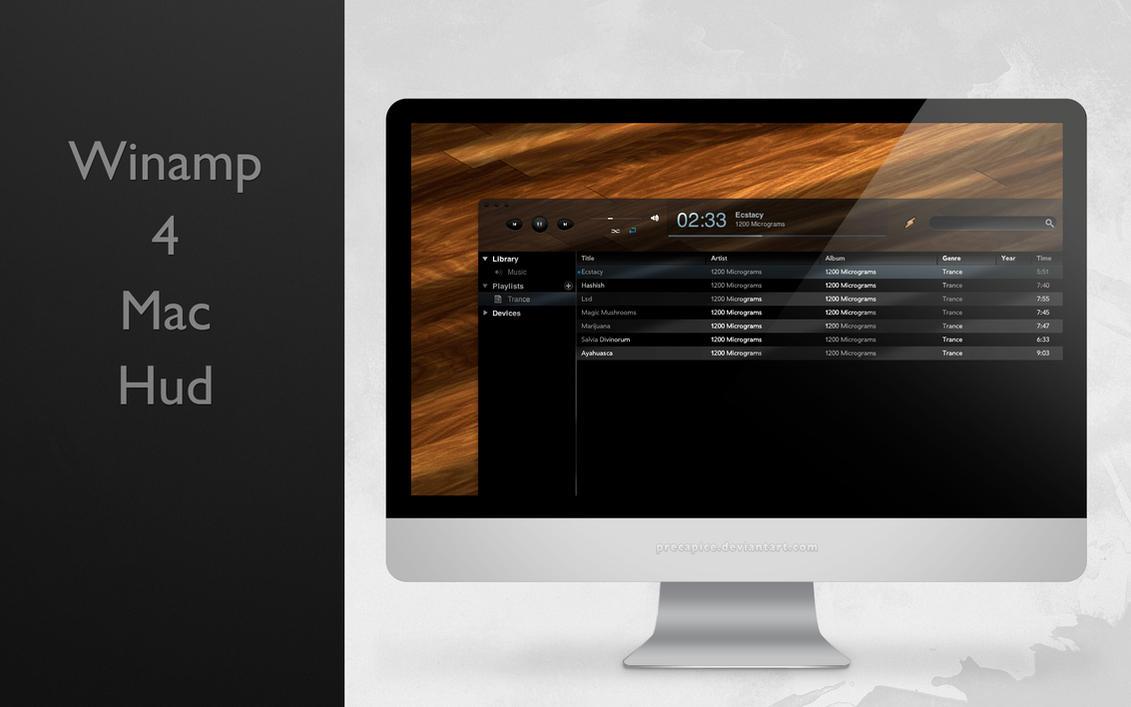 Winamp Hud 4 Mac by IanWoods
