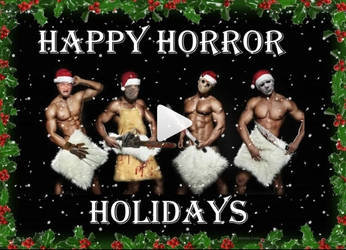 Happy Horror Holidays!!! by Melodiezmelz