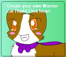 Flash : Make a Warrior cat by AquaKacheek