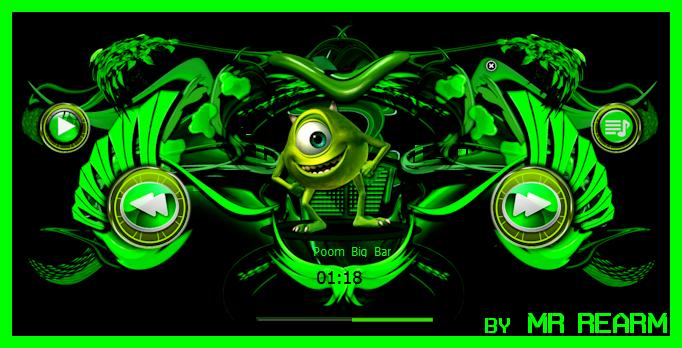 Mike Wazowski Ufo by Mr Rearm by MrRearm
