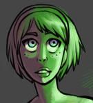 Animated Correction: Green Glow Effect