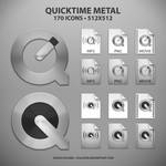 QuickTime Metal Icons