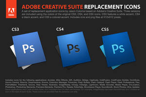 Adobe Creative Suite Icons by coloson