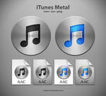 iTunes Metal Icons