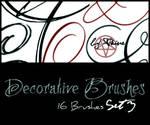 Decorative Brushes Set3