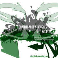 DB Graffiti Arrow-Brush Pack by SikWidInk
