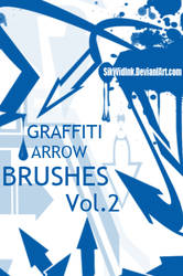 Graffiti Arrow Brush Pack 2 by SikWidInk