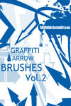 Graffiti Arrow Brush Pack 2