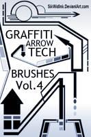 Graffiti Tech Arrows Pack4 by SikWidInk