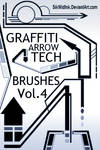 Graffiti Tech Arrows Pack4