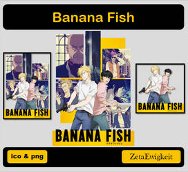 Banana Fish Icon by ZetaEwigkeit