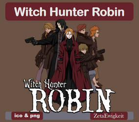 Witch Hunter Robin Icon by ZetaEwigkeit