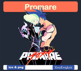 Promare Icon by ZetaEwigkeit