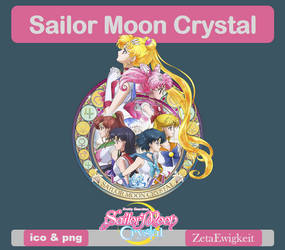 Sailor Moon Crystal Icon by ZetaEwigkeit