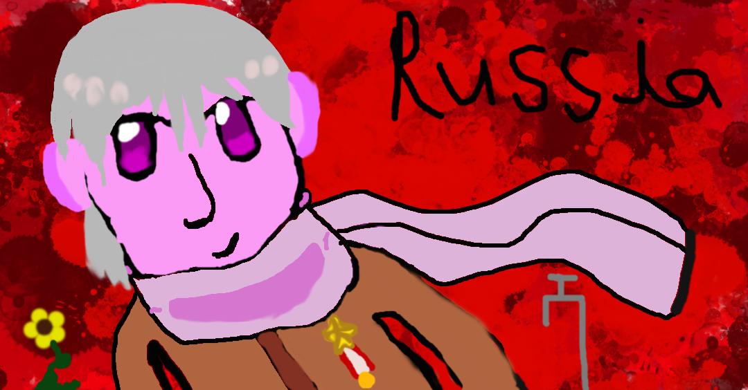 Russia from Hetalia by perceptor5